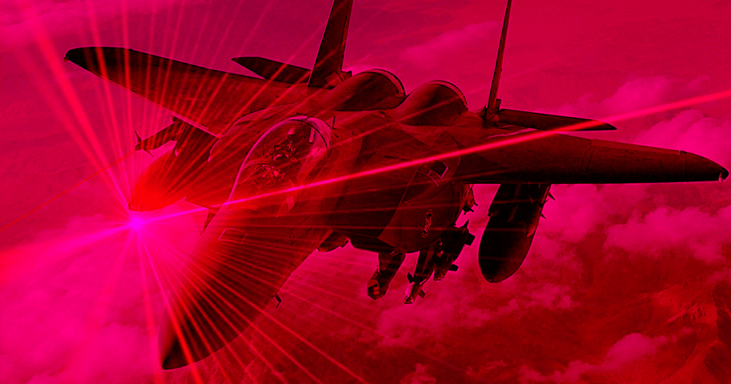Next-Generation Laser Weapons for fighter jets